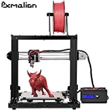 (New Version) Pxmalion CoreI3 3D Printer DIY Kit, Auto Leveling, Heat Bed, Improved Reprap Prusa i3 Structure, Filament RunOut Detection, Multiple Colors Printing, 40g PLA Filament Sample