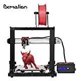 3D Printer - Pxmalion CoreI3 3D Printer DIY Kit, Auto Leveling, Heat Bed, Improved Reprap Prusa i3 Structure, Multiple Colors Printing, Filament Detection, Self-Assembly, 40g PLA Filament Included