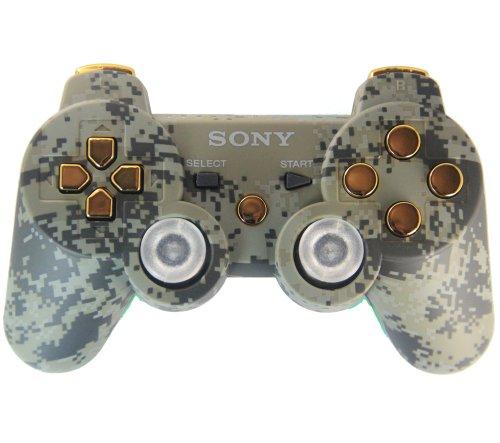Ps3 Camo Gold Rapid Fire Custom Modded Controller 40 Mods...