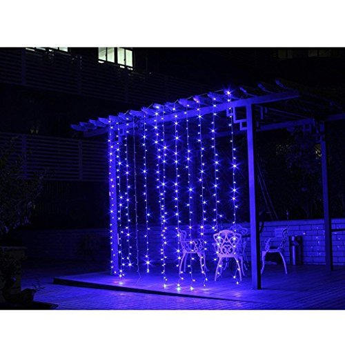 300 Blue Led Icicle Lights in US - 5