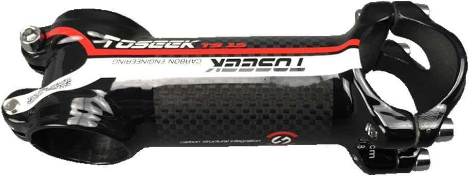 Manillar Toseek de aleaci/ón de fibra de carbono y aluminio ultraligero para bicicleta de monta/ña MTB, 31,8 mm