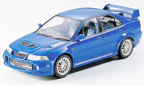 Tamiya 1/24 Mitsubishi Lancer Evolution VI Car Model Kit Mitsubishi Model Kit