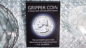 Maynards Magic Gripper Coin (Single/U.S. 25) Rocco Silano - Trick