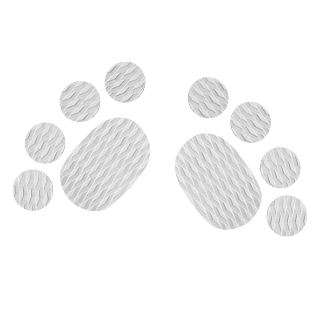 MonkeyJack 10 Pieces Diamond Grooved Grey EVA Deck SUP Traction Pad Grip for Dog Stand Up Paddleboard Surfboard - Self Adhesive & Non-slip by MonkeyJack (Image #1)