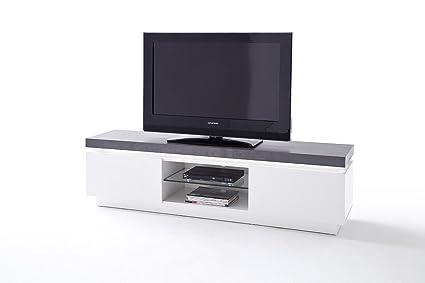 ATLAN 48671WB White Tv Stand