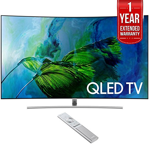 "Samsung 75"" UHD 4K HDR Curved QLED Smart HDTV 2017 Model  wi"