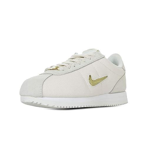Nike Wmns Cortez Basic Jewel 18, Zapatillas de Running para Mujer, (Phantom