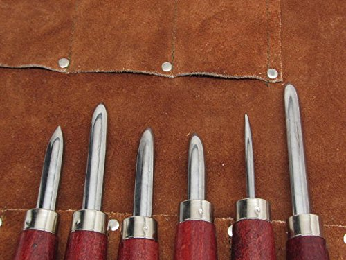 6pc Burnisher Etching Printmaking Graphic Art Tool Set by UJ Ramelson Co