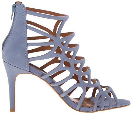 Steve Steven Di Madden Americano Sandalo Nubuck Donna Dress Blu Tana prqpx17Unw