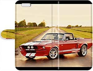 Christmas Gifts 6903403PH451229596I4S New Style Faddish Mustang Leather Case Cover For iPhone 4/4s April F. Hedgehog's Shop