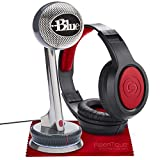 Blue Nessie Adaptive USB Cardioid Condenser Microphone with Studio Headphones Accessory Bundle