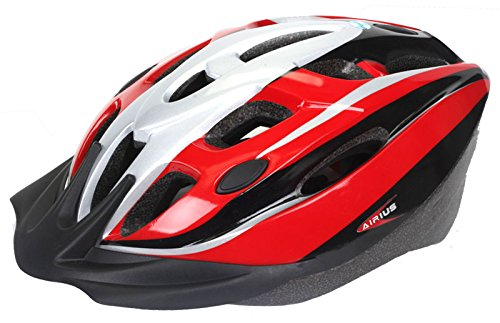 Airius Argo V15iF Helmet, L/XL, Red/Black/Silver For Sale