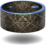 MightySkins Skin for Amazon Echo Dot - Vintage Elegance | Protective, Durable, and Unique Vinyl Decal wrap Cover | Easy to Apply, Remove, and Change Styles | Made in The USA