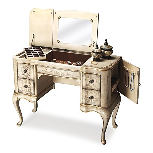 BUTLER 735238 CHARLOTTE GILTED CREAM HAND PAINTED VANITY