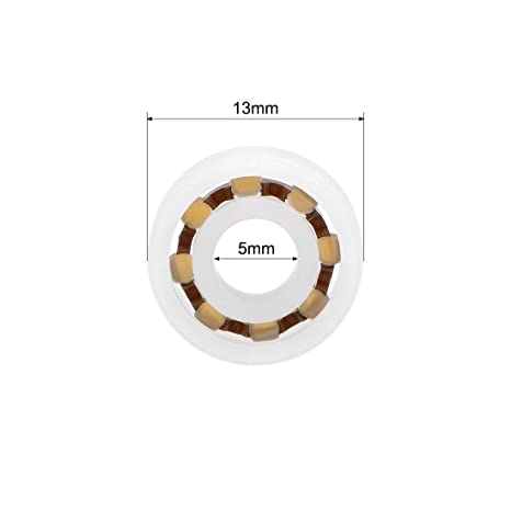 4x16x5 MM Pom Nylon Plastica Cuscinetto a Sfere 4 16 5 Quantità 5 634