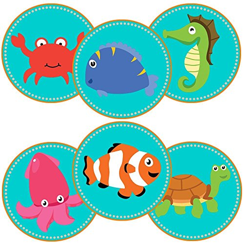 under-the-sea-stickers-party-favors-labels-set-of-50
