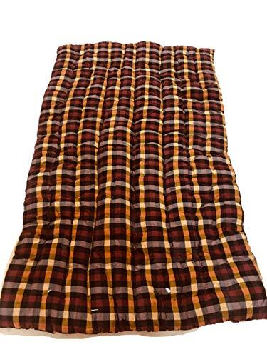 ATOOTFUSION Soft Cotton Filled Multicolour Mattress | Gadda (1 Sleeping Capacity – 3 x 6 ft or 72 x 36 Inch)