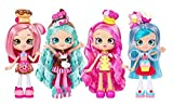 Shopkins Chef Club Shoppies Complete Set! (Donatina, Bubbleisha, Jessicake, and Peppa-Mint)