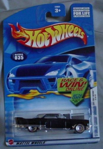 Hot Wheels 2002 First Editions '57 Cadillac Eldorado Brougham 23/42 BLACK #035 #35