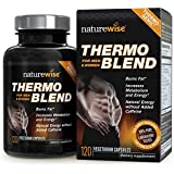 NatureWise Thermo Blend Advanced Formula Thermogenic Fat Burner for Weight...
