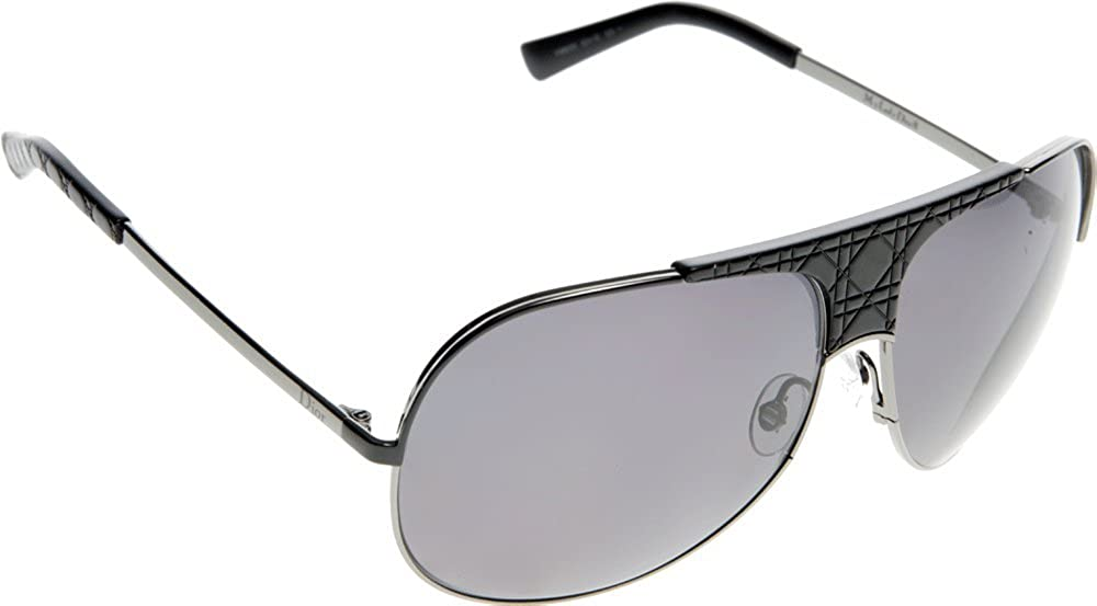 cc5dbfb5947f Dior VMM 3H Dark Ruthenium and Black My Lady Dior 8 Aviator Sunglasses  Polarise  Amazon.co.uk  Clothing
