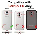 J.west S5 Case, Galaxy S5 Holster case, Hybrid Dual Layer Combo Armor Defender Protective Case with Kickstand + Belt Clip Holster for Samsung Galaxy S5