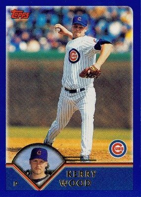 2003 Topps # 16 Kerry Wood Chicago Cubs - Baseball Card