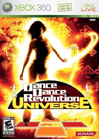 Dance Dance Revolution Universe - Xbox 360 Konami 30059 E10+ Music