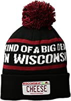 "Cirque Mountain Apparel ""Kind of A Big Deal in Wisconsin Beanie, Multi, Unisex Adult"