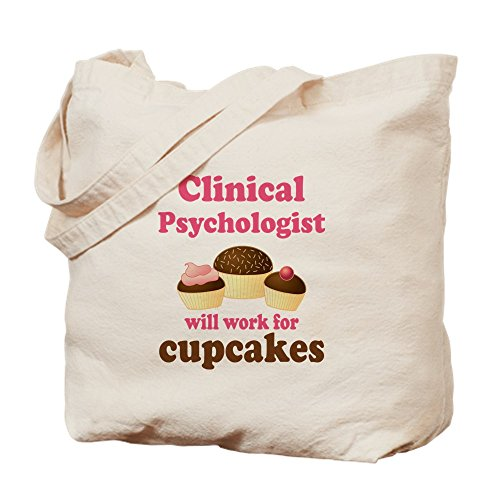 Tote CafePress Canvas Psychologist Bag Clinical Cloth Cupcake Bag Natural Shopping ZxUXqZ