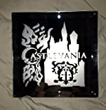 Castlevania Anime Castle Flames Logo Mirror Glass Etching