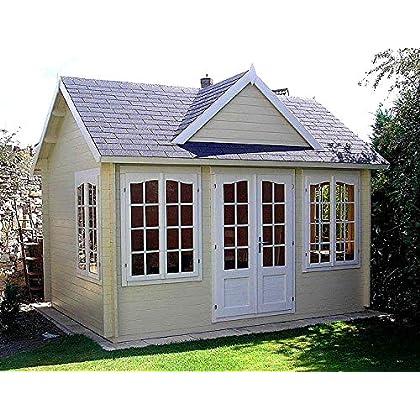 Allwood Chloe | 123 SQF Kit Cabin, Garden House | Amazon