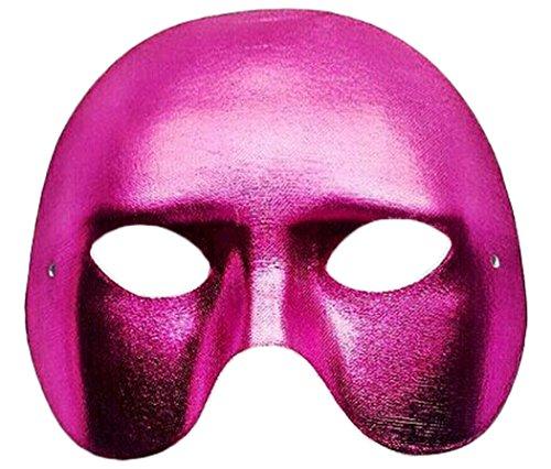 Outgeek Men's Venice Halloween Costume Masquerade Masks Party Half Face Mask -