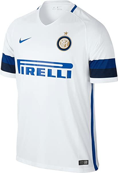 quality design b28ab ee2cd Nike 2016-2017 Inter Milan Away Football Soccer T-Shirt Jersey
