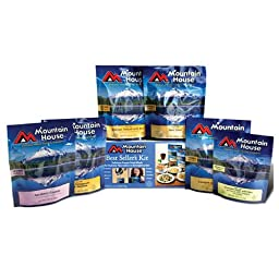 Mountain House Freeze Dried Food Kit