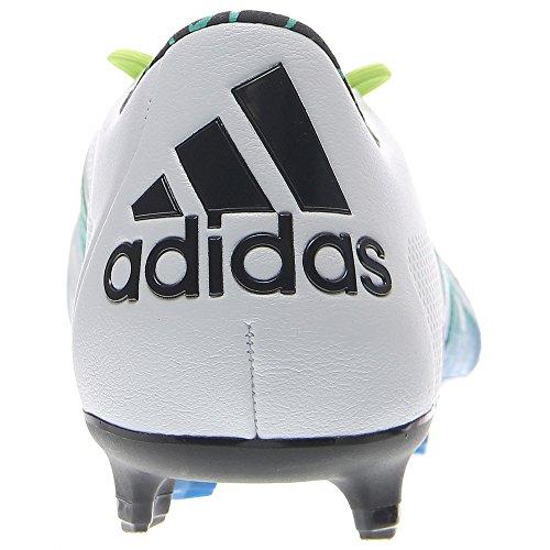 Adidas Mannen X 15.1 Fg / Ag Leder Wit