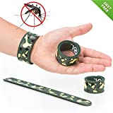 #7: Slap Mosquito Repellent Bracelet by TantiQ - 1 Month Protection - Safe, Natural Pest Control - DEET Free Indoor or Outdoor Insect Control - Kid Safe Insect Repellant - Waterproof, Adjustable Design