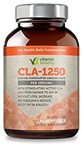 Vitamin Bounty - CLA 1250mg softgels