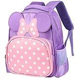 Vbiger Kids Backpack Adorable Kindergarten School Bag Oxford Cloth Preschool Backpacks Cute Daypack for Little Girls
