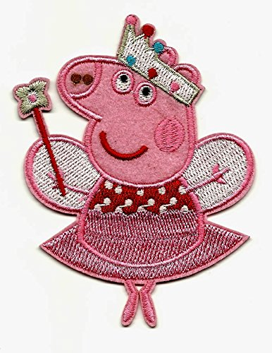 Peppa Pig Iron On/Sew On Embroidered ()