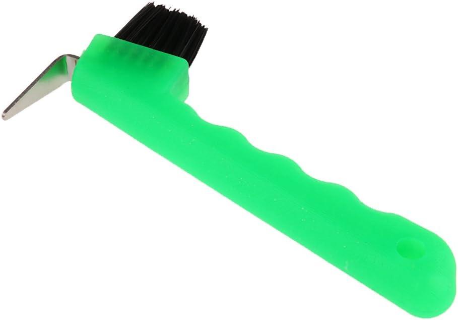 Sharplace Cure-Pied avec Brosse Accessoire pour Cheval /Équipement De Dressage De Cheval