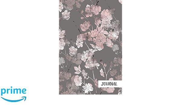 Journal: Japanese Sakura Blossom Blank Paper Notebook ...