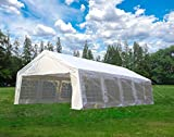 Cheap U-MAX 32'x19' Party Tent White – Heavy Duty Wedding Canopy Carport Shelter – with Storage Bags