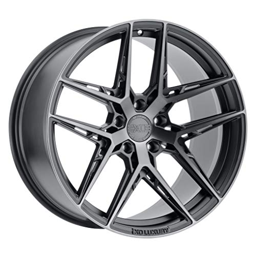 XO LUXURY Cairo Carbon Graphite Wheel with Painted Finish (19 x 11 inches /5x120 mm, 40 mm Offset)