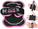 Women's Fitness Gloves Grip Power Pads FIT - Lifting Grips The Alternative To Gym Gloves Workout Gloves (Pink)