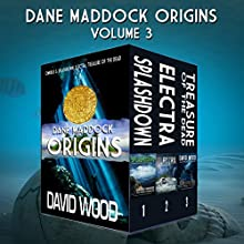 The Dane Maddock Origins - Omnibus 3 Audiobook by David Wood Narrated by Jeffrey Kafer