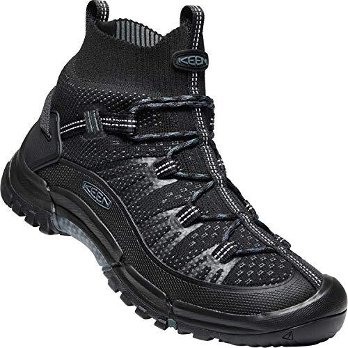 KEEN Targhee Evo Mid Hiking Boot - Men's Black/Slate, 9.0 (Best Hiking Boots Uk 2019)