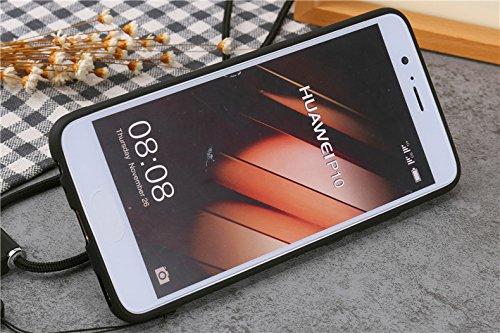 E Cover Negozio Foglio Titolare Paraurti Rotante Gradi 360 modello Protettiva A Vestito Cordino Telefono Progettare Del P10 Casi Torre Simpatico Anello Cartone Tpu Eiffel Con Rigida Custodia Per Huawei Animato 2 Dal g1SdqnO