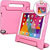 Apple iPad Air 2 case for kids, iPad Pro 9.7 kids case [SHOCK PROOF KIDS IPAD CASE] COOPER DYNAMO Kidproof Child iPad Cover for Girls Boys Toddlers | Kid Friendly Handle Stand, Screen Protector (Pink)