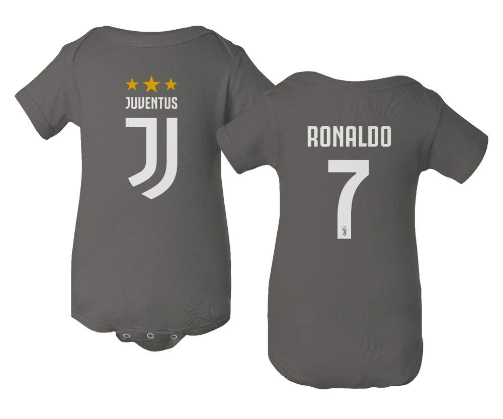 Amazon.com  Spark Apparel Soccer Shirt  7 Cristiano Ronaldo CR7 Little  Infant Baby Short Sleeve Bodysuit  Sports   Outdoors d39279bec